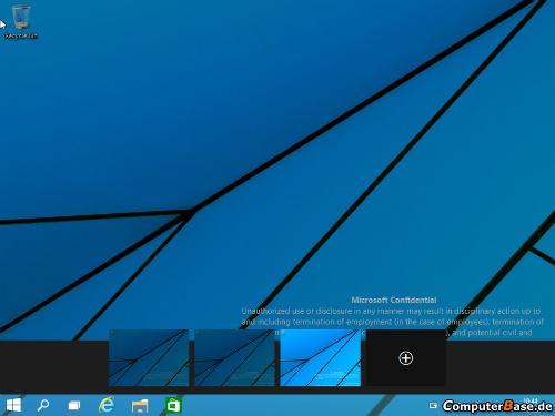 Imagen de escritorio múltiple en windows 9
