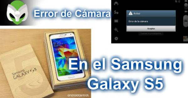 Fallo en la cámara del Samsung Galaxy S5
