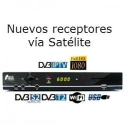 Dudas y respuestas sobre los receptores vía satélite