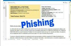 Estafa phishing en nombre de Endesa que instala el virus Locky