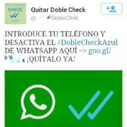 Fraude WhatsApp, abonan a SMS Premium por bloquear ticks azules