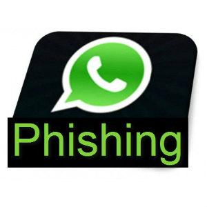 Detectada una campaña de phishing suplantando a WhatsApp