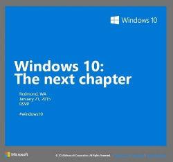 Microsoft pone fecha de lanzamiento al nuevo Windows 10
